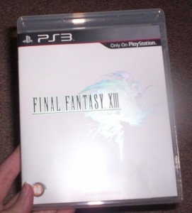 FFXIII Front Cover