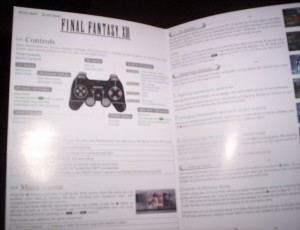 FFXIII English Sheet